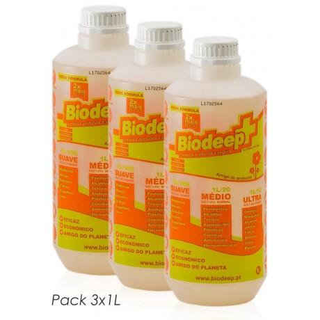 BIODEEP+ 3x1L
