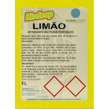 BIODEEP MULTIUSOS LIMÃO 5L