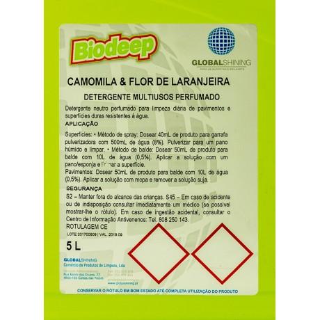BIODEEP MULTIUSOS CAMOMILA E FLOR DE LARANJEIRA 5L