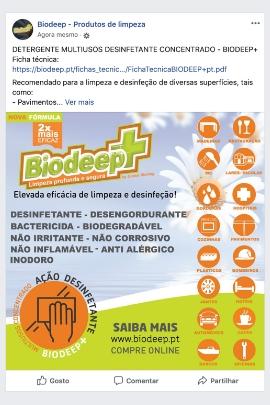 Facebook Biodeep